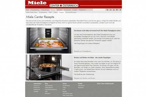 Miele Center Online Shop